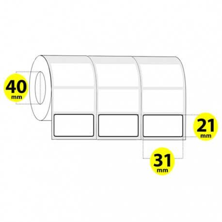 لیبل کاغذی 31 × 21